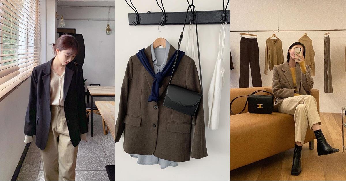 女生西裝外套這樣穿才不土!4種時髦混搭小技巧必學