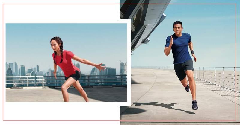 雙腳吹進自然風,彭于晏、張鈞甯攜手演繹 adidas CLIMACOOL 跑鞋及 CLIMACHILL 凍涼機能衣