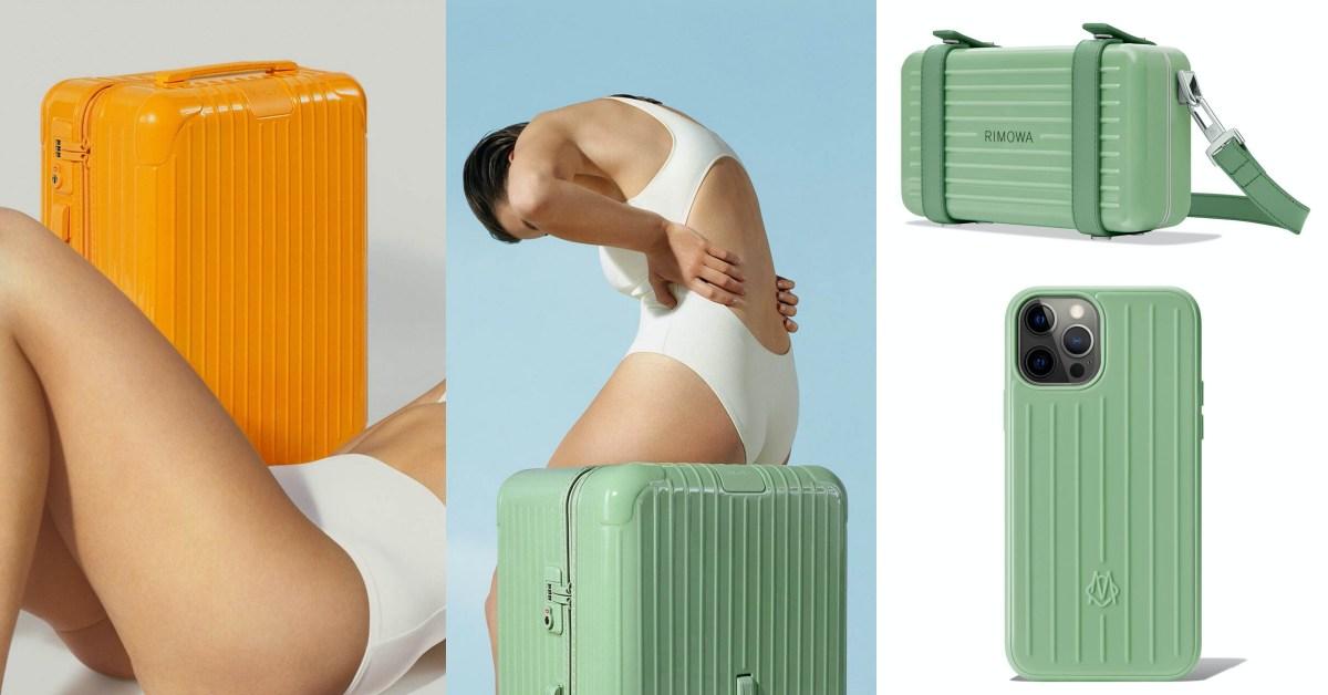 Rimowa行李箱「彩色Essential 」推薦Top 7!陽光橙色、青竹綠色...iPhone手機殼不買太可惜