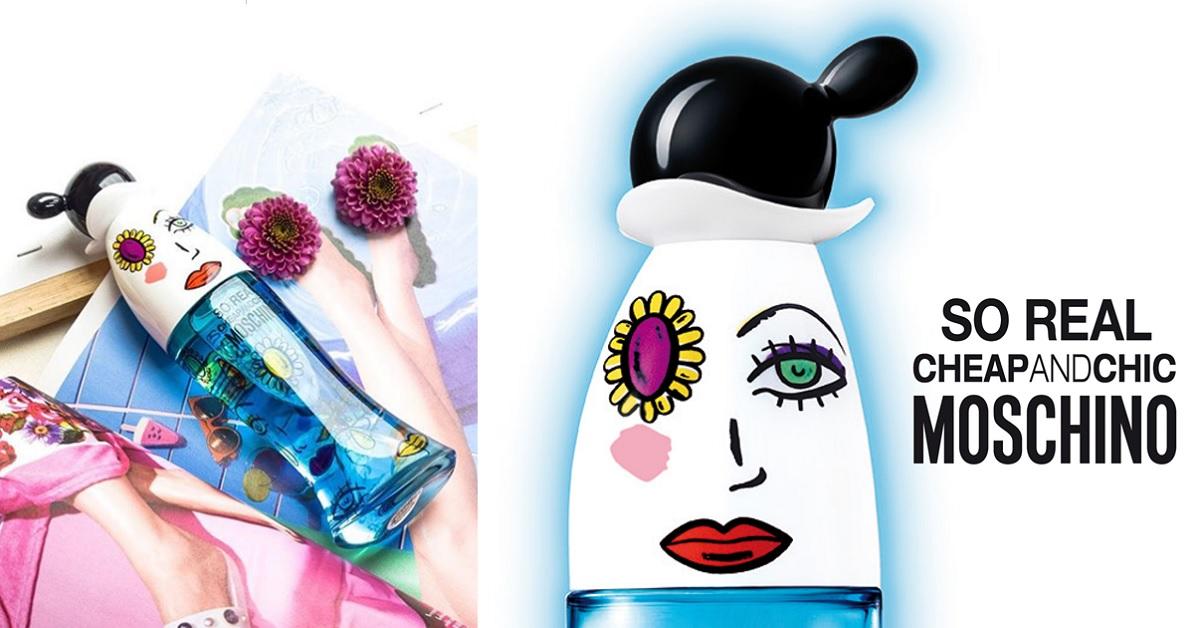 卜派的麻煩女友,一個轉身俏皮登場,MOSCHINO SO REAL奧莉薇女性淡香水喚醒初春的清新力量