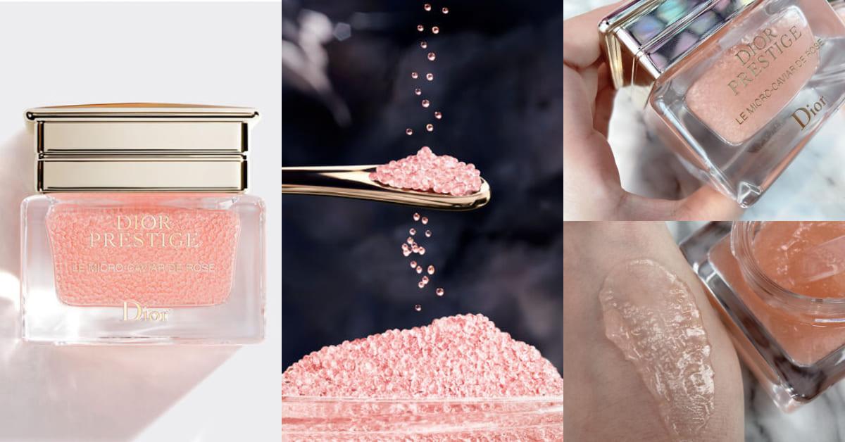 10顆膠囊媲美1罐安瓶的滋養力!Dior花蜜魚子膠囊,8小時保濕、淡化細紋有感