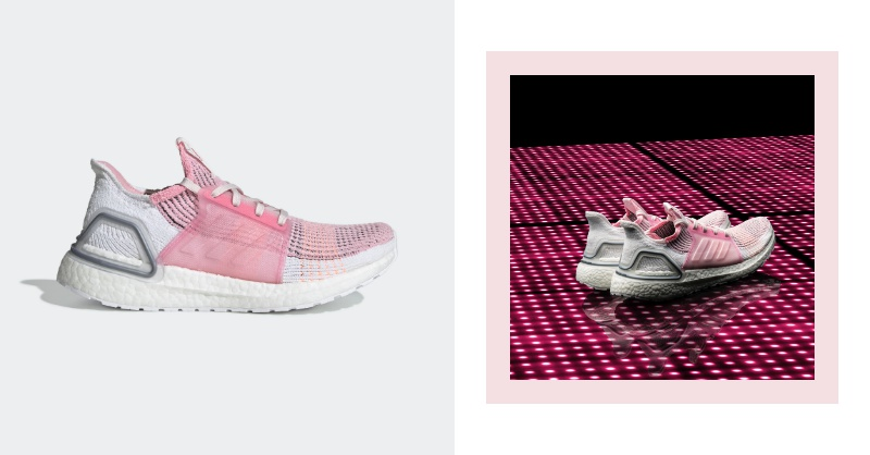 粉紅控注意!adidas Ultraboost推櫻花粉配色,能跟男友穿情侶鞋啦!
