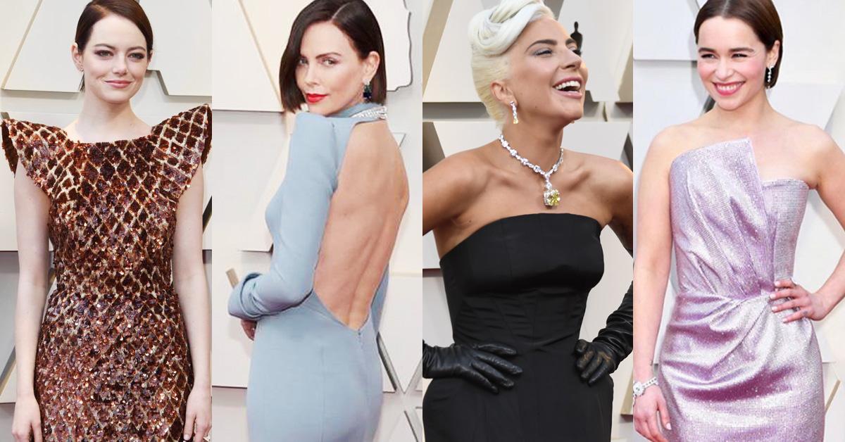 2019奧斯卡女星紅毯太搶眼!女神卡卡戴赫本項鍊、艾瑪史東向星際大戰致敬?