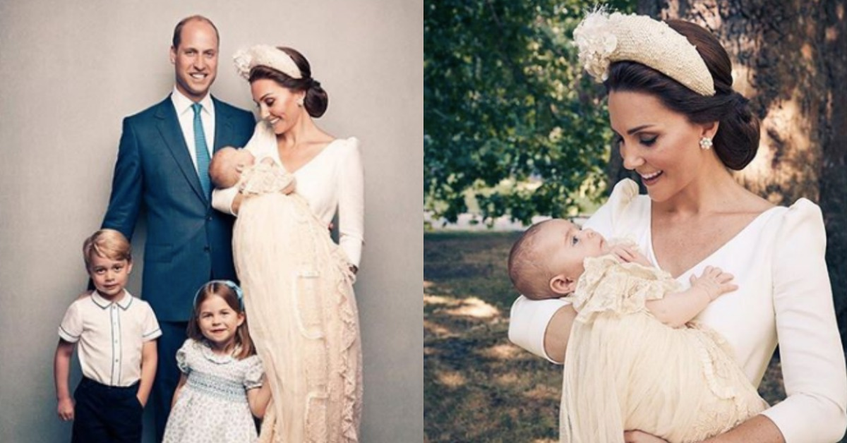 新版皇室全家福出爐!回顧小王子、小公主受洗時的經典萌樣,誰是你的最愛?
