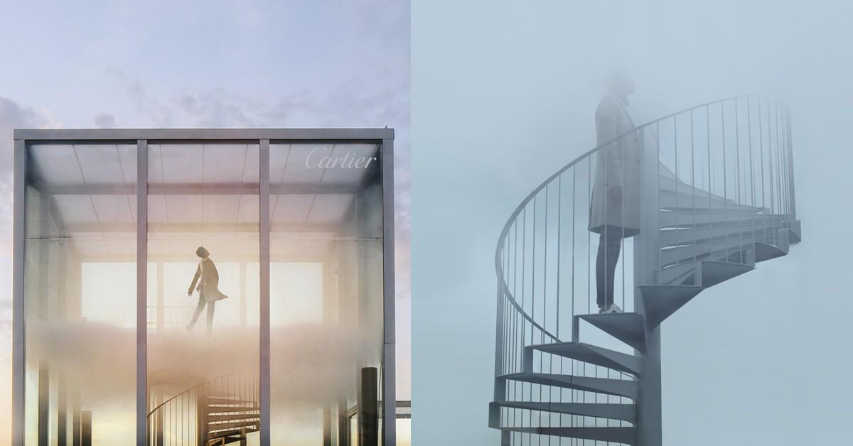 科技 × 香氛!CARTIER這次不賣珠寶,改於巴黎東京宮展出「OSNI 謎樣香氛」藝術裝置,顛覆眾人感官!