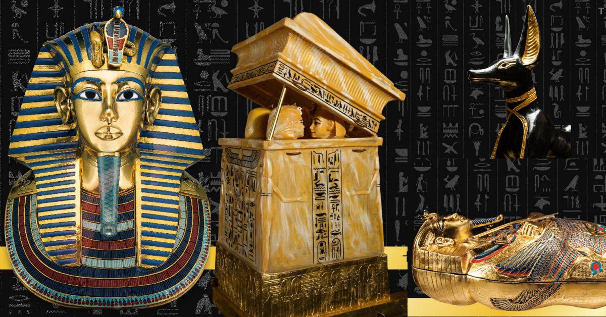 埃及最年輕法老「圖坦卡門」特展5大重點!19歲神秘早逝、墓穴中超過5000件寶物