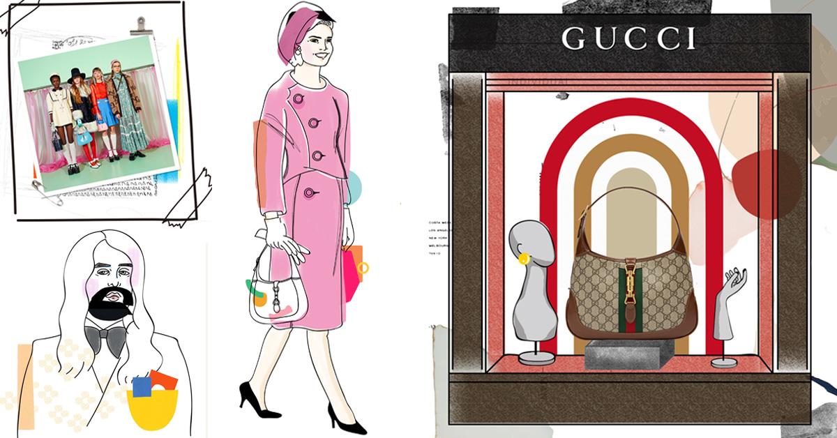 Gucci 「The Jackie 賈姬包」紅遍60年以上,背後10個秘辛你不可不知