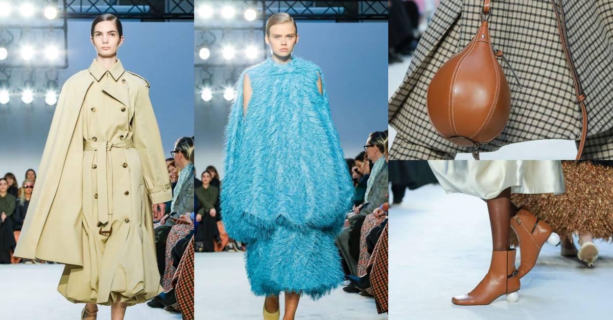 橄欖球包、小貓跟鞋、公主袖風衣全都太可愛!Loewe創意總監在時裝周告訴妳2020年單品就要這樣買!