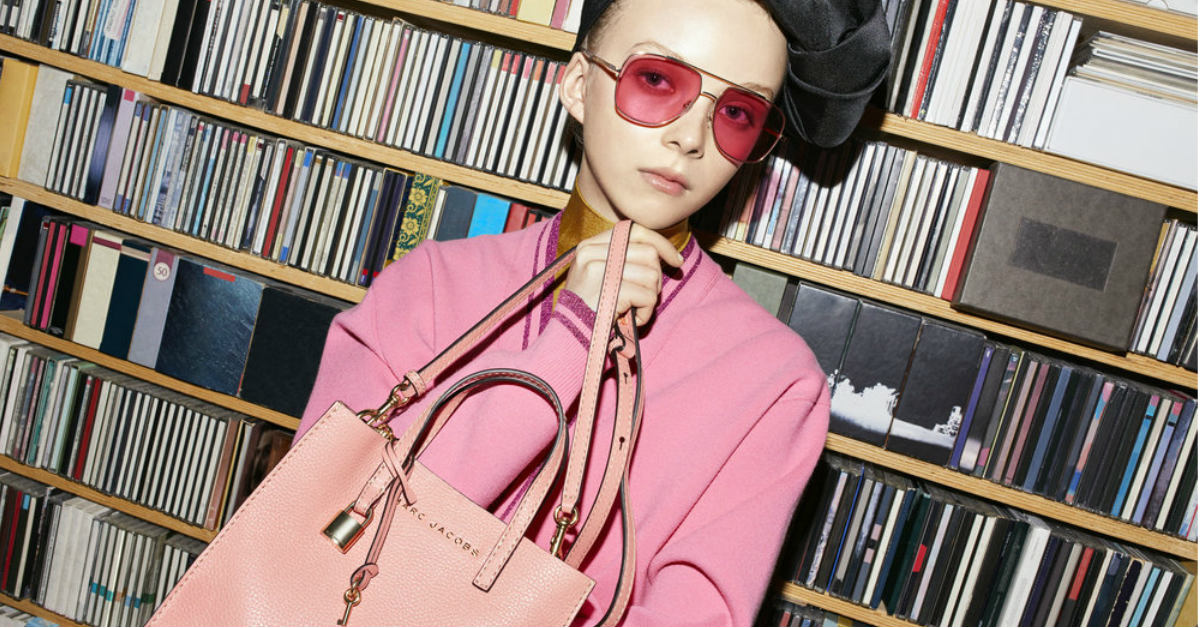 小資女、OL族必入手新歡!簡約不失叛逆的Marc Jacobs 春夏方塊包