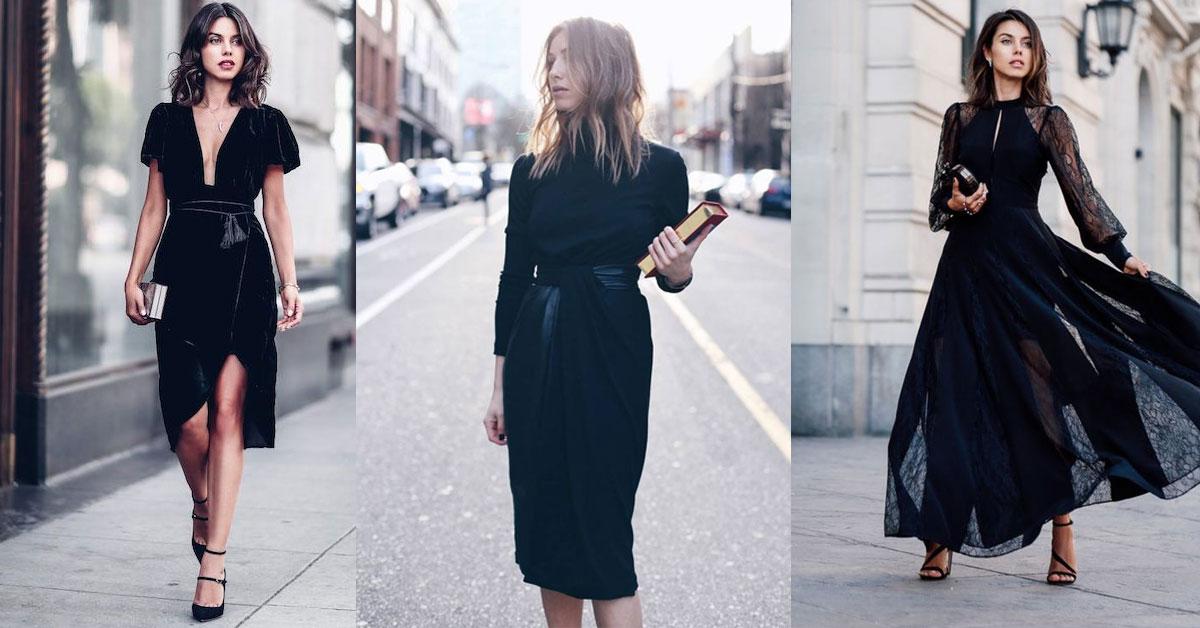 女人衣櫃一定有的經典款!小黑洋裝「這樣穿」超百搭