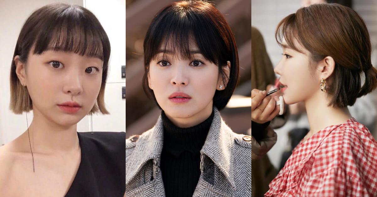 宋慧喬、金多美、劉仁娜都在瘋減齡短髮造型!耳下2公分「精靈剪」,視覺乍看18歲