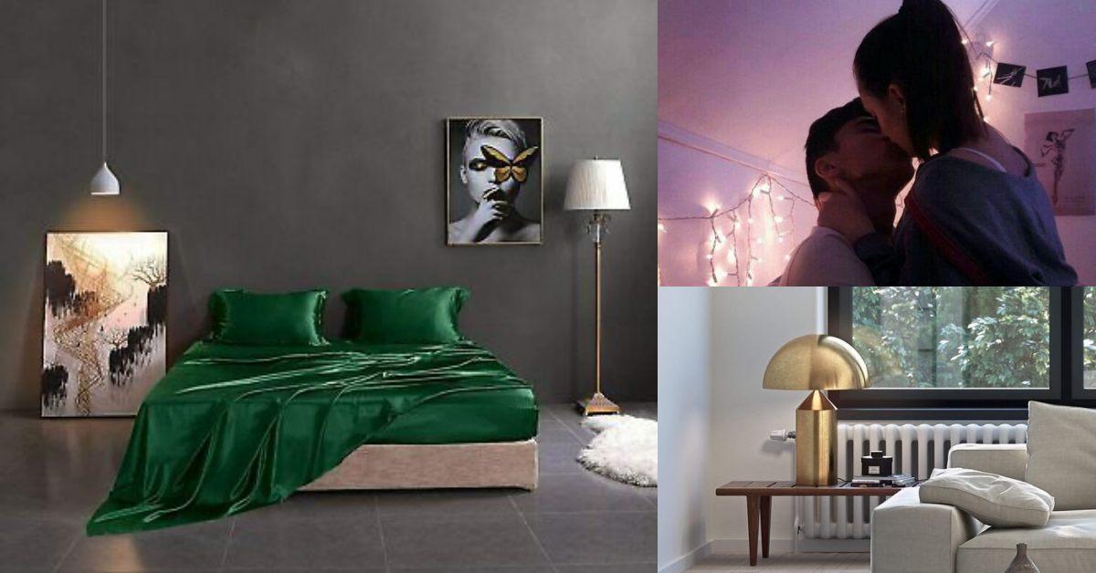 【慾女駕到】愛愛提不起勁跟「房間顏色」有關係?絲綢床單、間接照明是助興高手!
