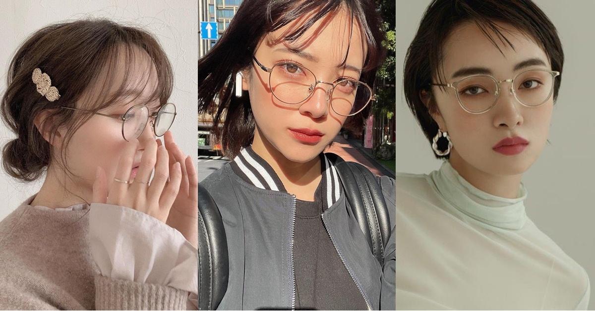 戴眼鏡也能擁有的完美妝容!5大「眼鏡妝」重點教學,僞清新妝容超撩男!