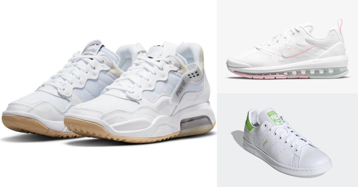 2021小白鞋推薦Top10!Nike、Asics、Adidas....Converse這雙厚底鞋女孩全搶翻!