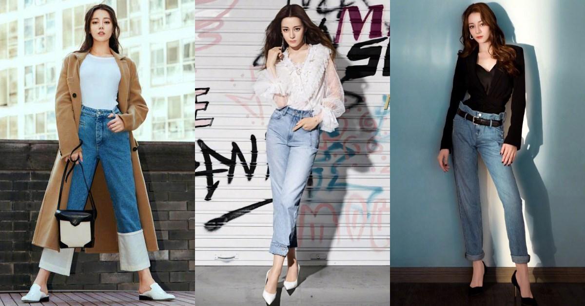 《長歌行》迪麗熱巴獲封「最會穿牛仔褲」的女人,掌握5大穿搭技巧 ,視覺激增+15CM!