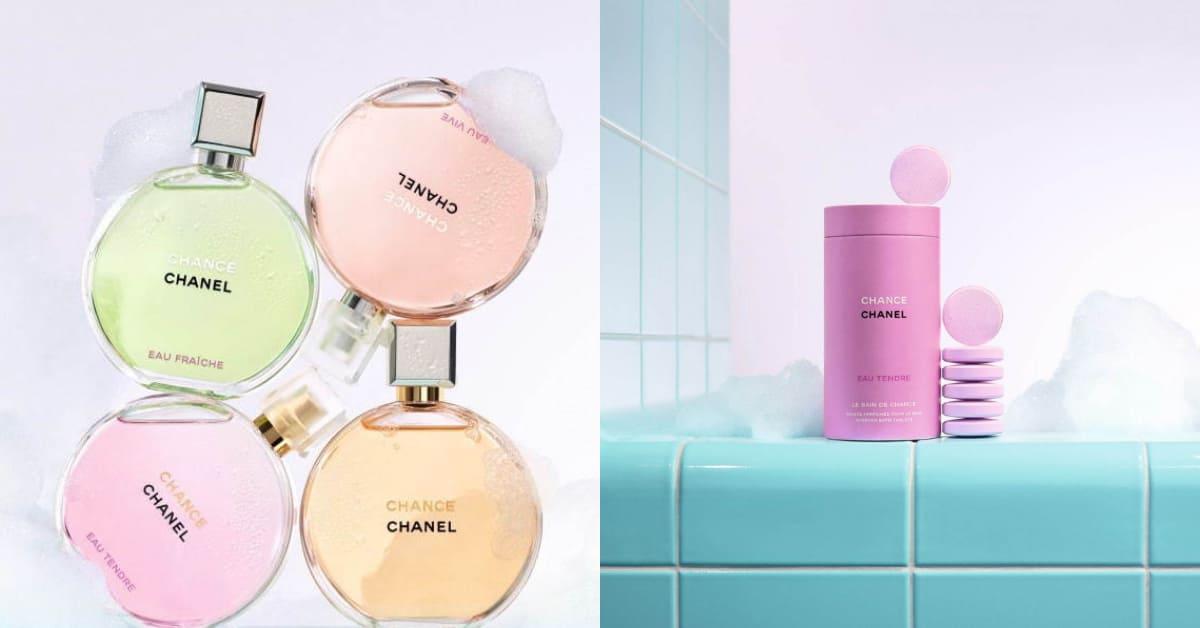 香奈兒香水可泡澡 ?品牌首款「Chance香氛沐浴碇」驚喜登場,茉莉花香味道太高級啦