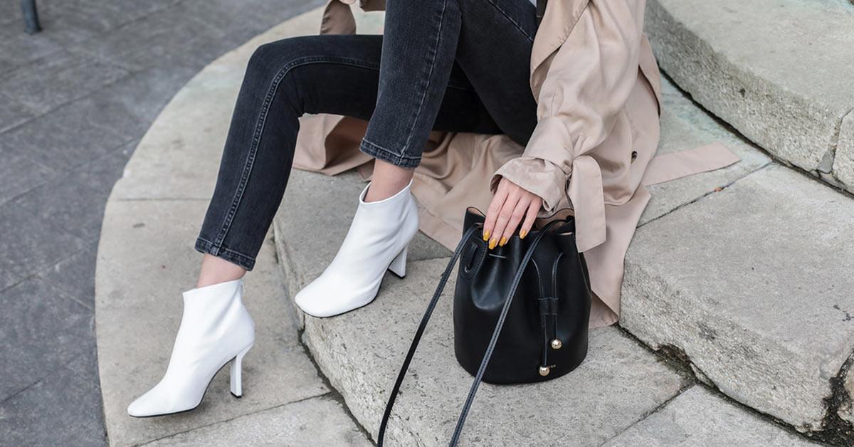 今年冬天必學的白靴穿法,3招讓你打造時髦又清新的造型