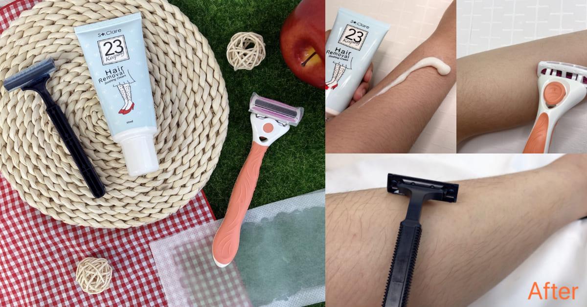 【神儂實驗室】夏天除毛害怕變成黑草莓?美體刀、除毛膏、蜜蠟評比,想當白虎妳需要這一款!