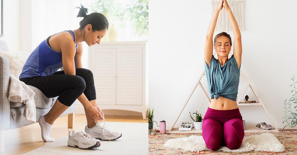 疫情升溫居家運動正夯!「哈達瑜伽」必學5招,紓壓放鬆還能找回內心平靜