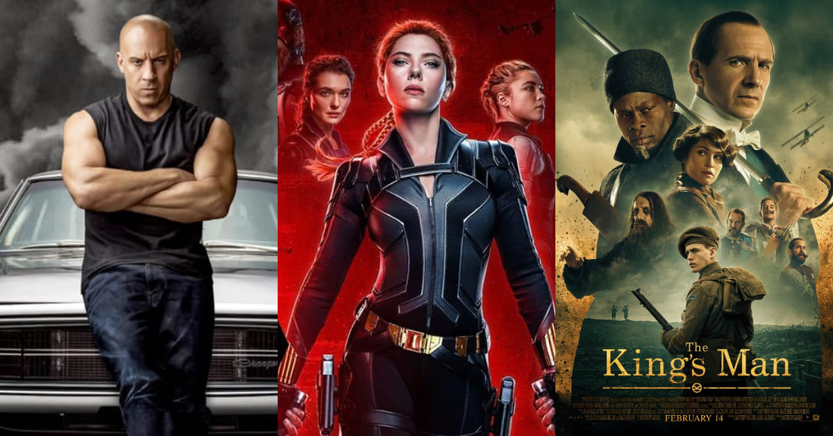 2021票房電影推薦這5部!《黑寡婦》、《玩命關頭9》終於登場,阿湯哥《捍衛戰士》睽違34年回歸
