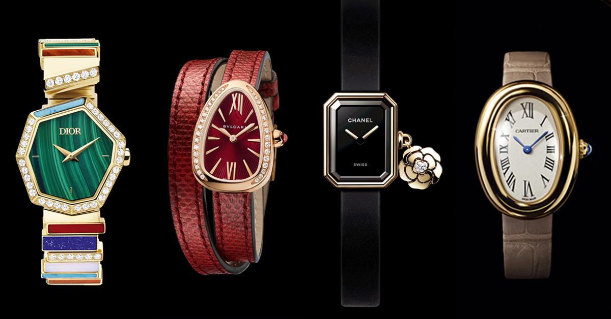 """手錶造型不是非圓即方!9款""""特殊造型""""精品手錶推薦,香奈兒、寶格麗、卡地亞…讓你走在時代尖端"""