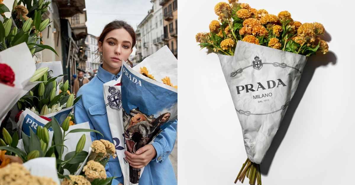 Prada開限定花店!專屬客製包裝讓你在家就能美拍!