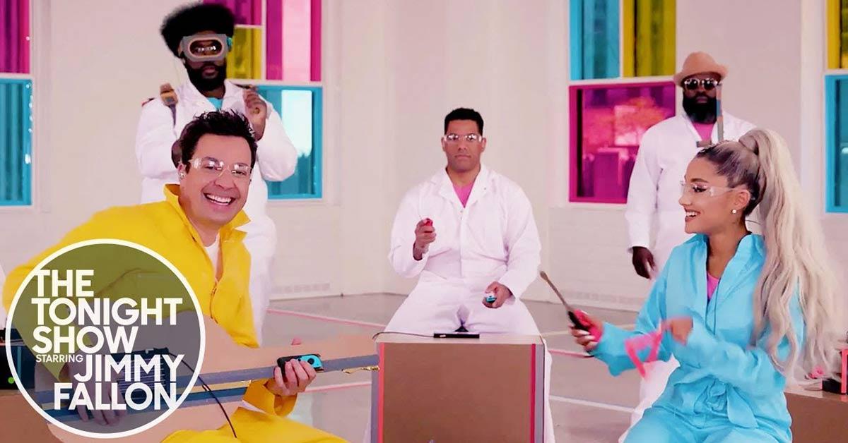 別再認為任天堂Switch只是台遊戲機,看Ariana Grande如何用它組團演唱