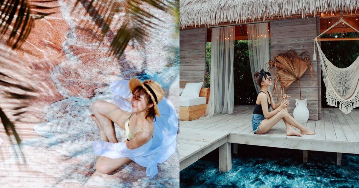 《爛醉咖啡》換佈景再度洗版IG!絕美沙灘、度假草屋帶你秒飛熱帶小島