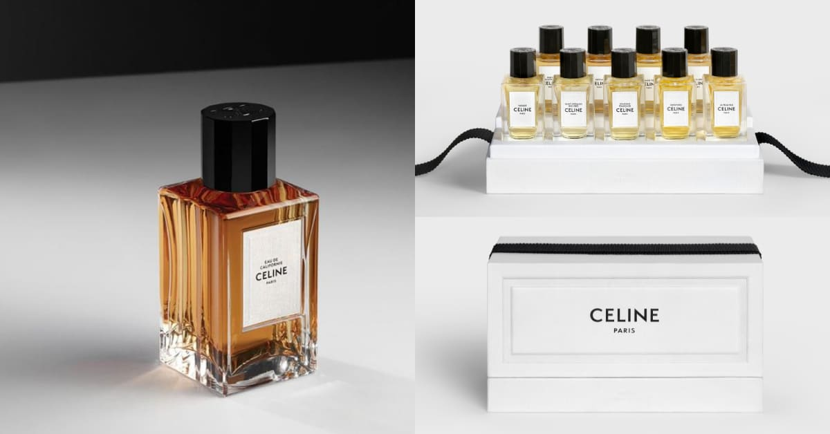 Celine香水推薦這版!2020聖誕首推「迷你香水日誌」,全球搶翻9款香味一次收藏