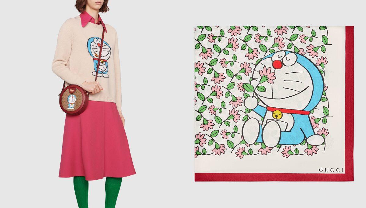 Gucci哆啦A夢聯名正式登場!水桶包 、托特包到皮夾,不是可愛,是可愛到死!