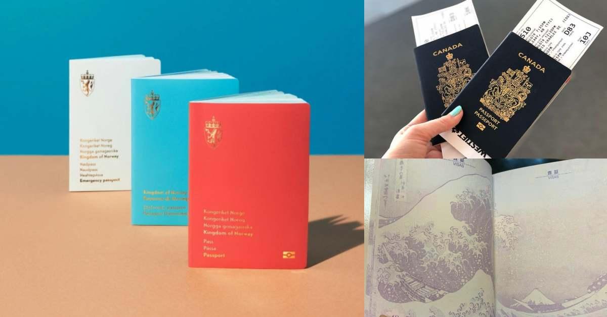 全球最美護照Top10!第一名「挪威」最現代感,「日本」浮世繪成最大遺珠