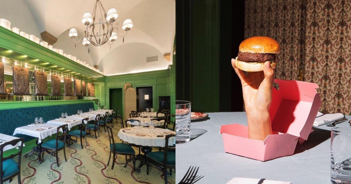 Gucci餐廳獲榮獲米其林一星!文藝復興裝潢、招牌漢堡,最懂吃的時尚迷不得錯過