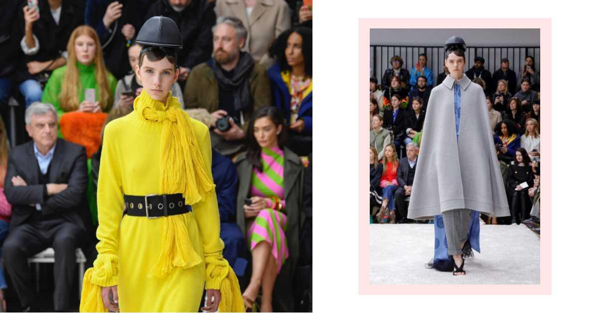 斗篷搭上懸空帽!《哈利波特》的魔法也登上倫敦時裝周?