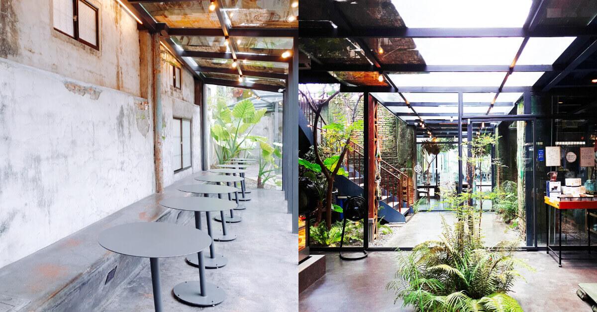 屏東鐵道輕旅行,「大和頓物所」碾米廠變身絕美咖啡廳,透明玻璃屋好好拍!