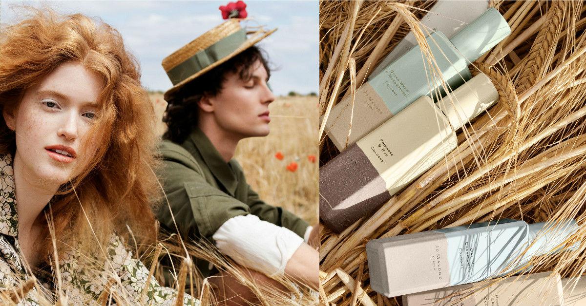 每年推出必搶的「英倫系列」來了!這次Jo Malone將黃澄澄穀物,化為溫暖舒服香氣,正適合春天!!