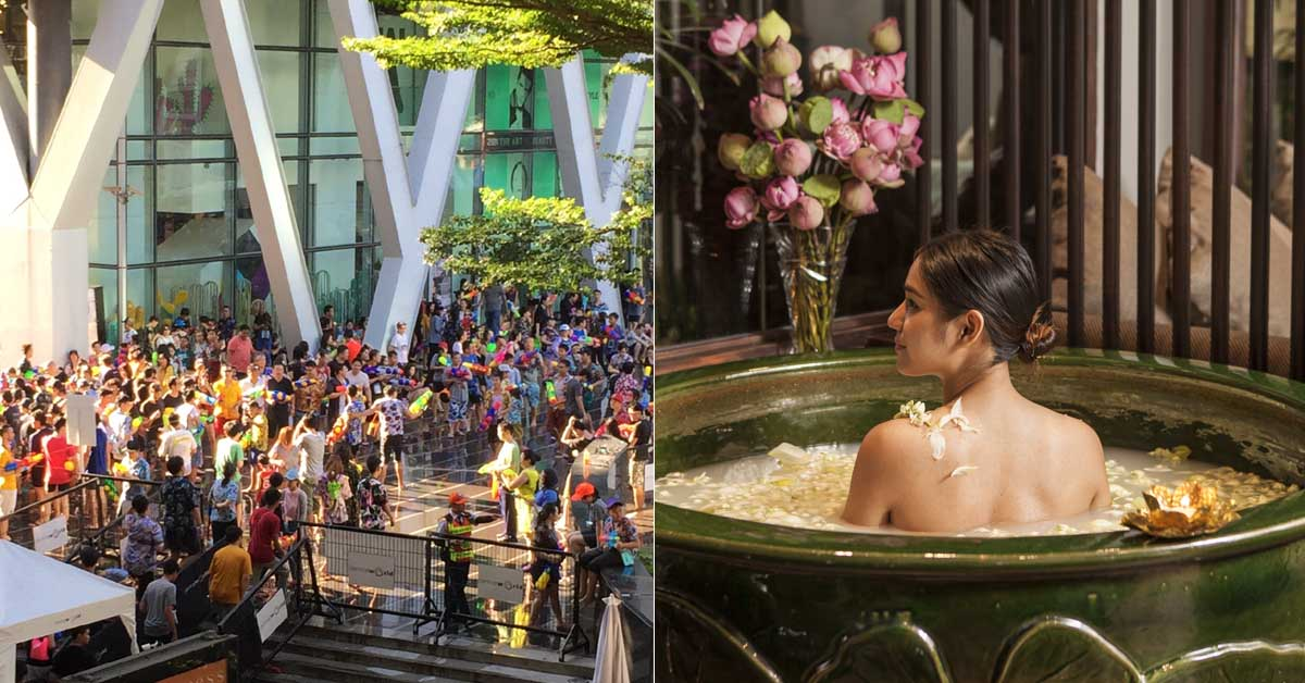 泰國旅遊恰好遇上「潑水節」?不想被淋濕就來「這些」地方逛逛