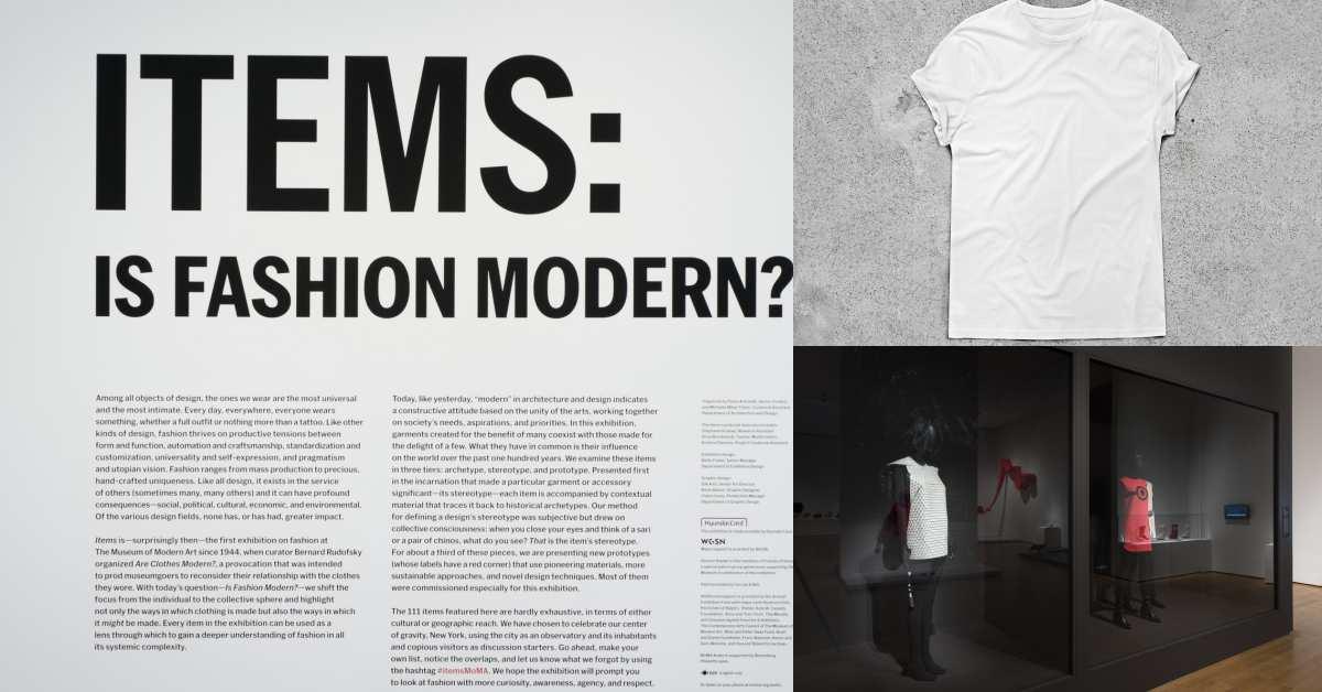 時尚?藝術?美國當代藝術博物館 MoMA 首次時裝大展 Items: Is Fashion Modern?