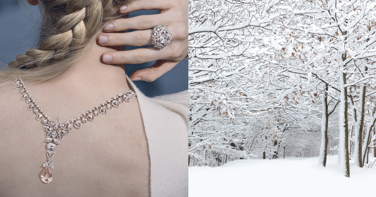 透過CHAUMET全新珠寶系列,細細感受俄羅斯寒冬之陽!