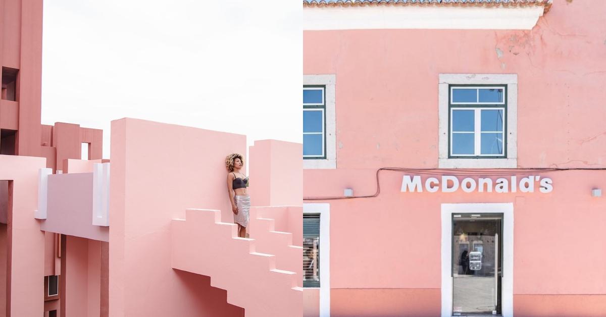 什麼,居然還有粉紅色的麥當勞!幫你一次搜羅散落全球的9個粉嫩聖地