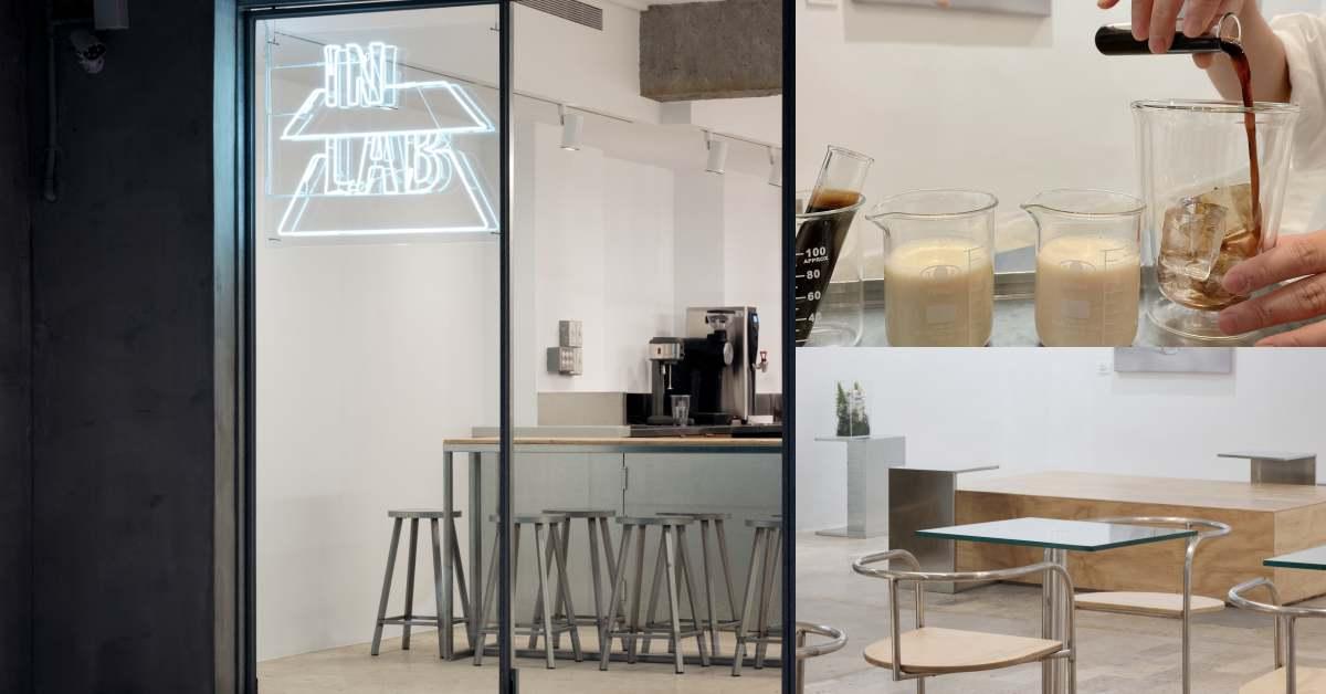 台北首家「植物奶咖啡店」In Lab!椰子、杏仁拿鐵連素食主義者也能喝