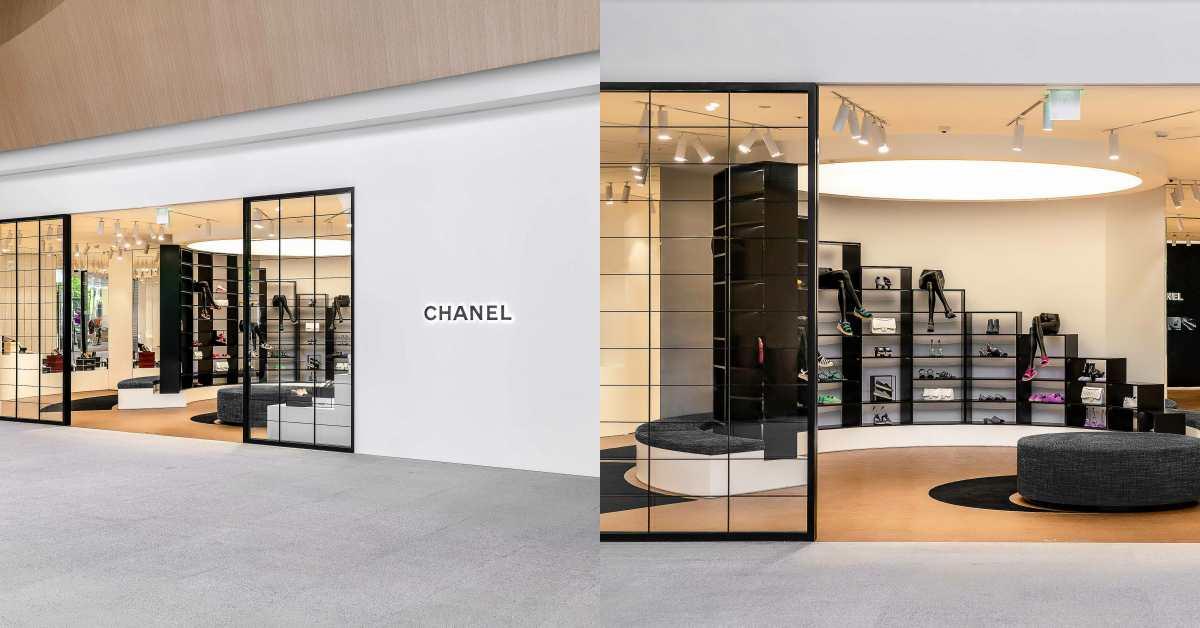 Chanel全球首間鞋店在台灣!還原巴黎康朋街鏡梯設計,灰姑娘終於找到歸屬地