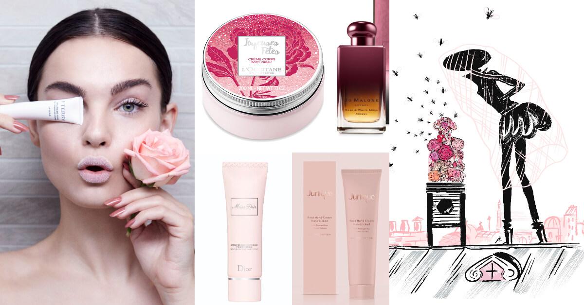 是愛情的象徵,保養效果也很驚人!2018玫瑰控不可錯過的玫瑰系美妝新品點點名!