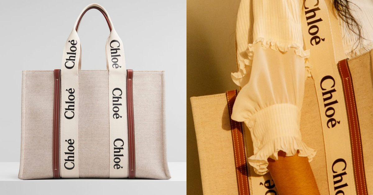 Chloé鎖頭包遇強敵!帆布托特包加上品牌大Logo,日本女孩已經搶翻天