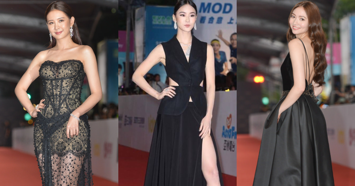 【金鐘53】紅毯3美all black!女星安心亞、鍾瑶、謝沛恩不畫紅唇,反而將重點放在「這裡」爭版面!