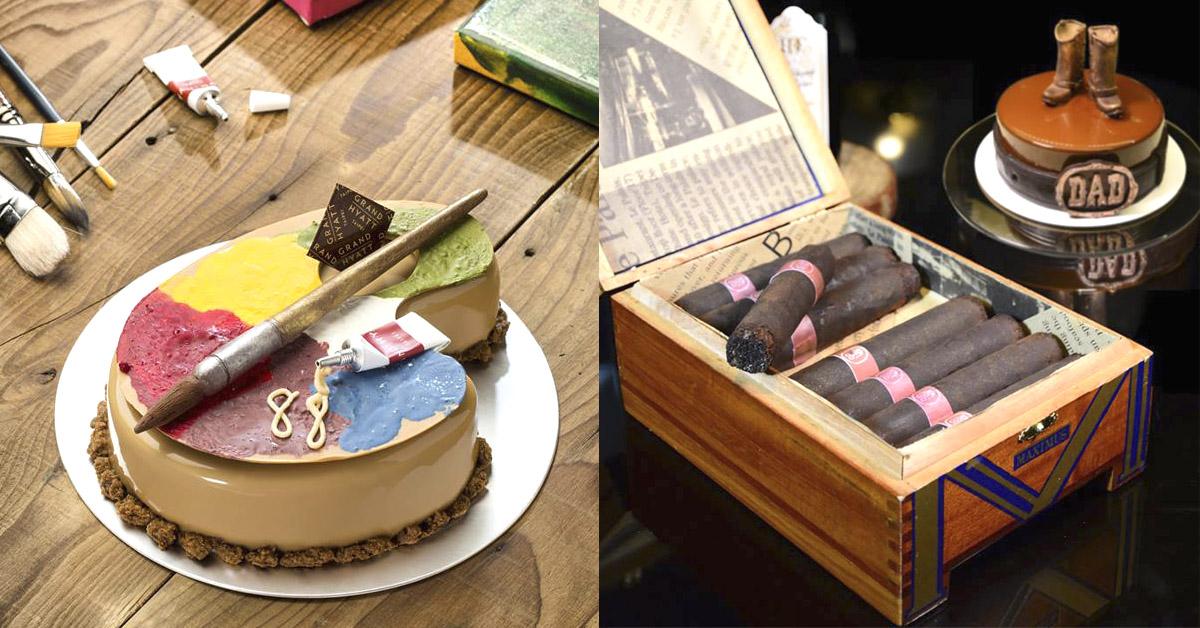 畫筆、雪茄牛仔靴、調色盤都能吃?這六款父親節造型蛋糕讓人直呼豪「爸」氣~