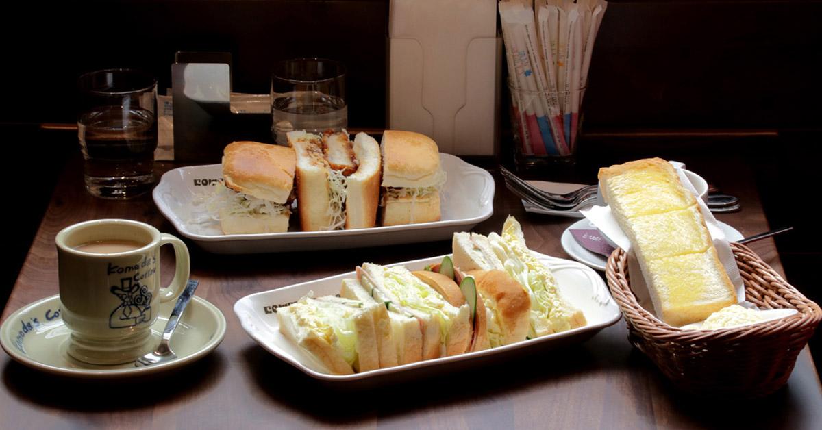 【男子專欄】上班前享受悠閒早餐!名古屋活力朝食 「Komeda's Coffee コメダ珈琲店」來台!