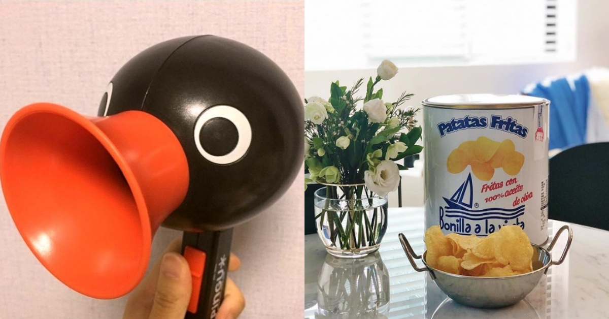 韓妞狂洗版!2019韓國怪萌小物:吃不胖的油漆桶洋芋片、企鵝吹風機