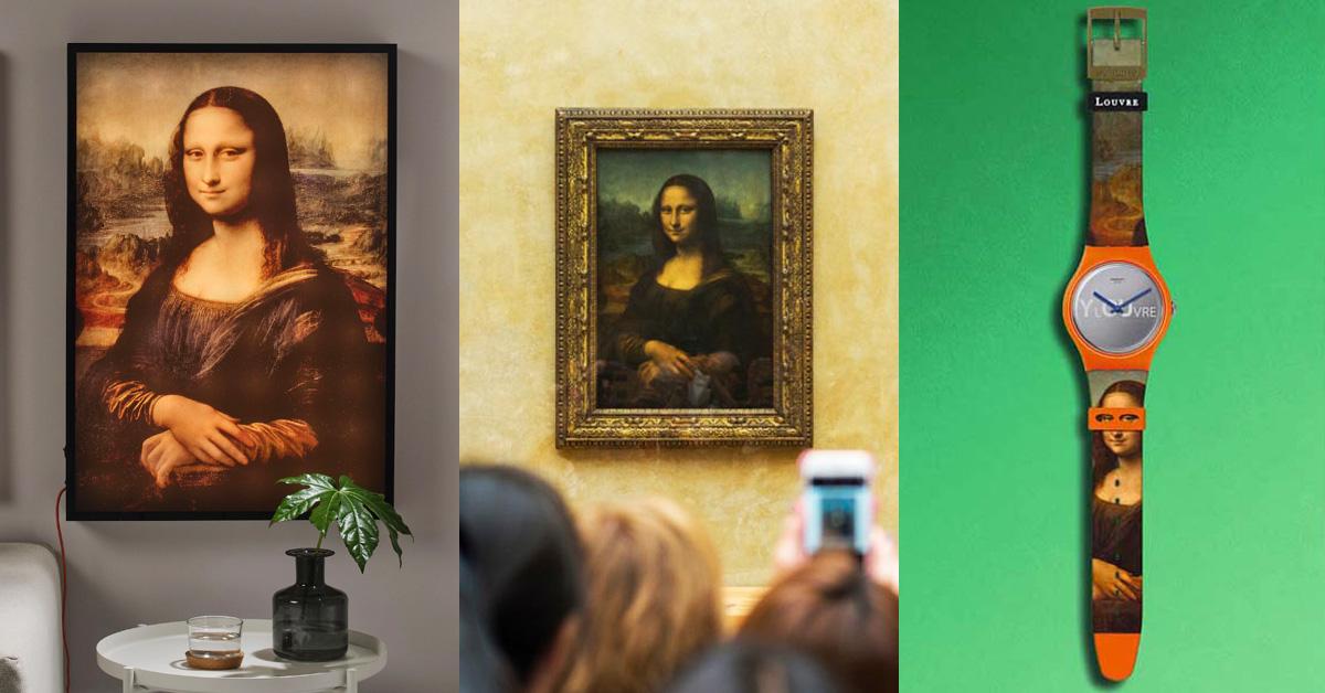 達文西逝世500週年了!品牌推《蒙娜麗莎》畫像聯名,IKEA壁燈、Swatch錶必收