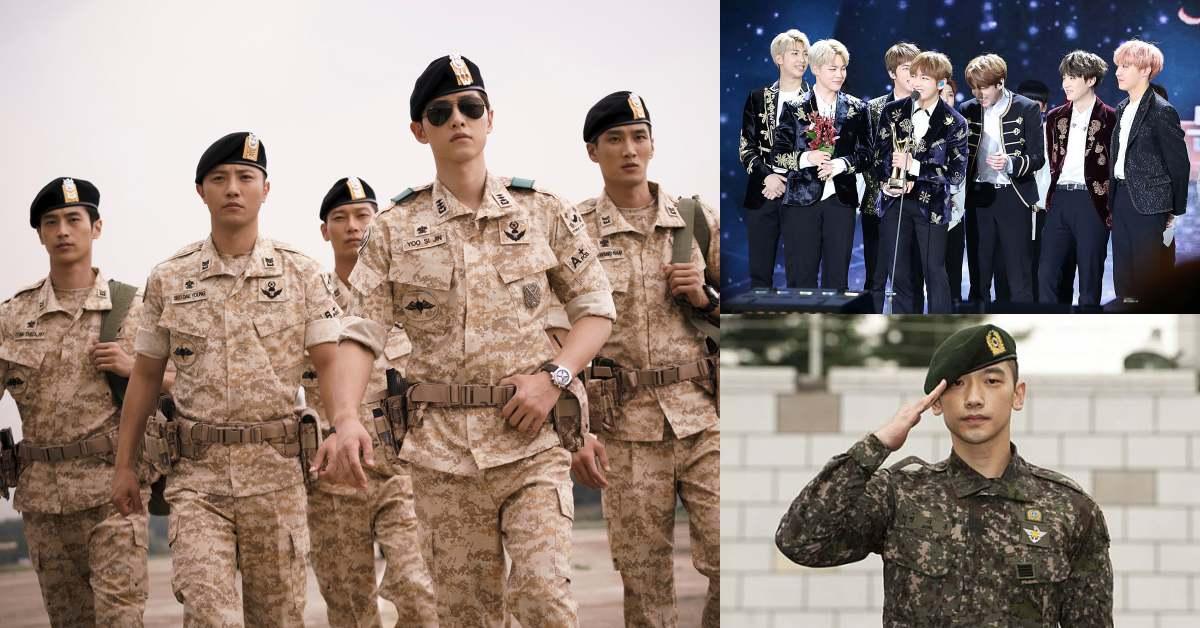 """BTS兵役有解?南韓修改兵役法,除了""""優秀藝人"""",信""""這個""""也有可能不用當兵"""