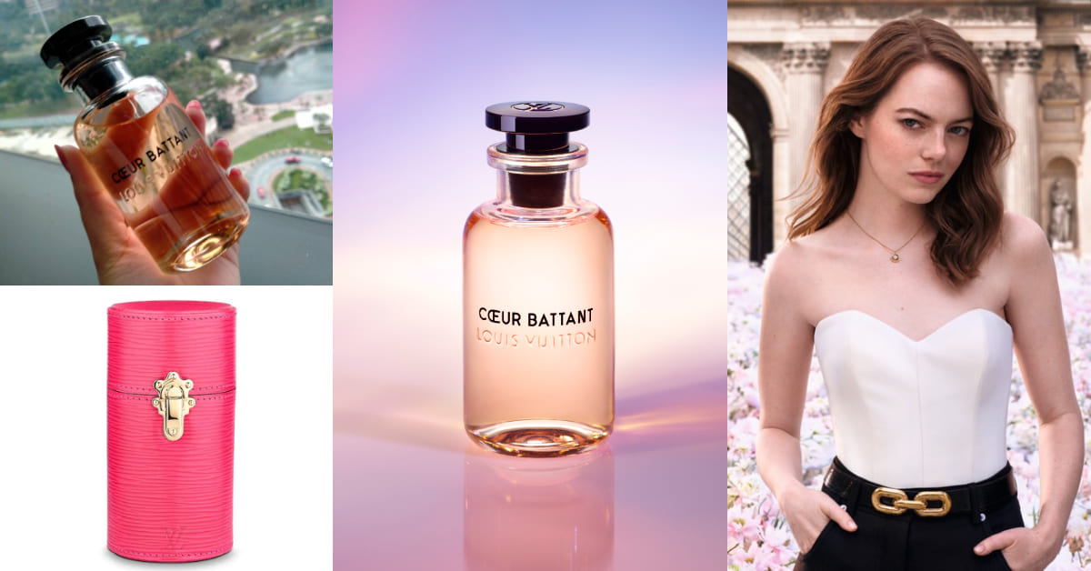 女神艾瑪史東的愛香是它?LV調香師將回憶小物變成香水,皮革收納包美的太犯規
